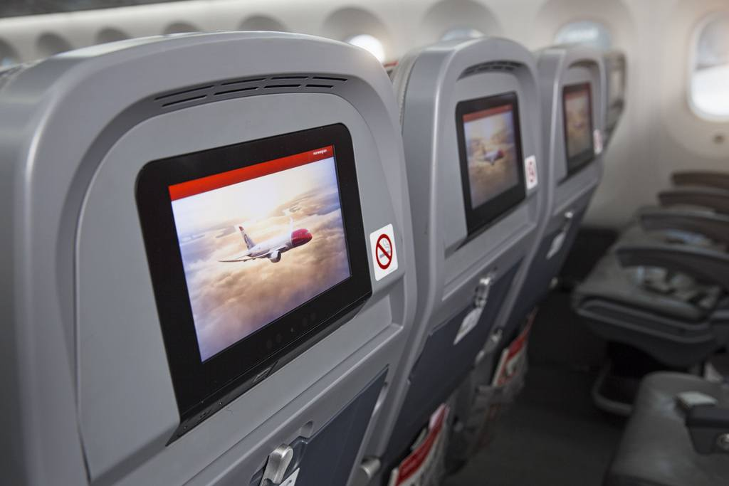 Intérieur dreamliner boeing 787 Norwegian