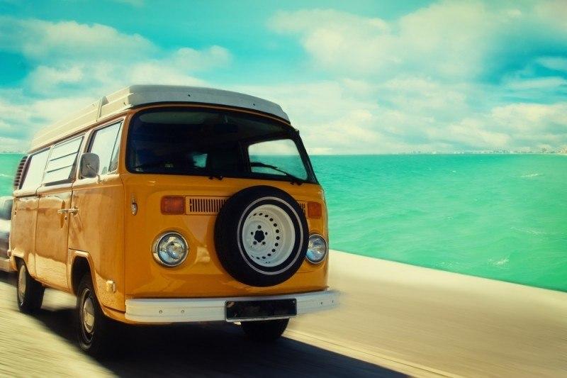 Road-trip en van