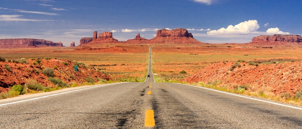 Carte mémoire pour photo paysages USA