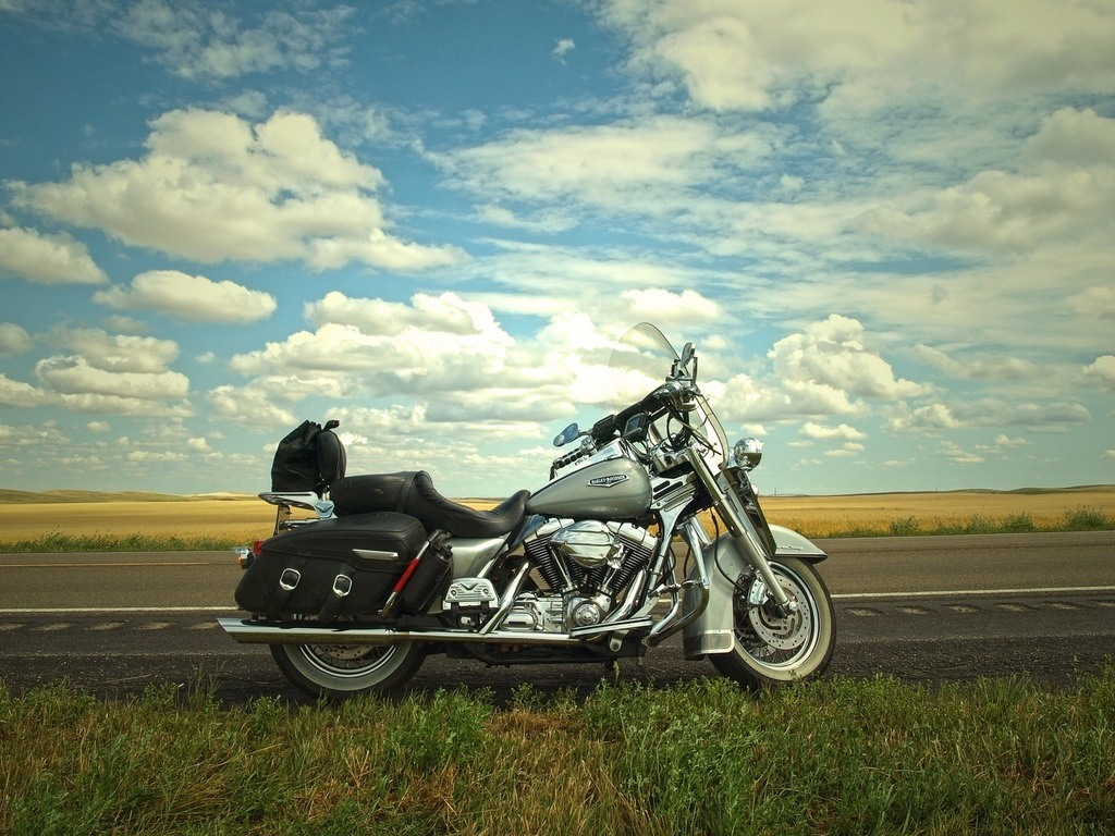 Immortaliser un cliché de moto en road-trip