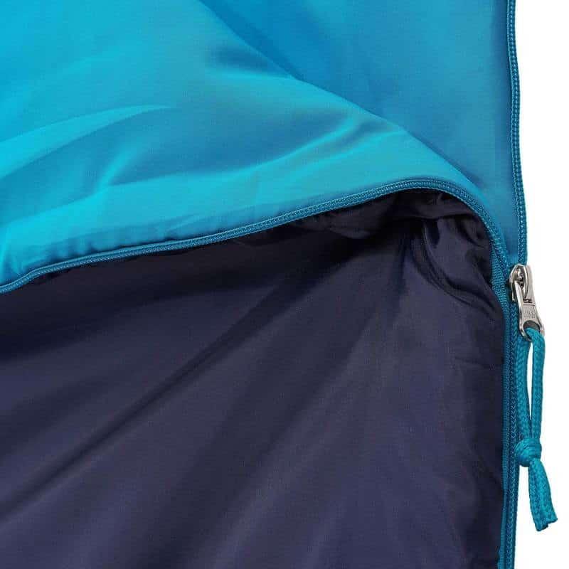 Zip fermeture sac de couchage