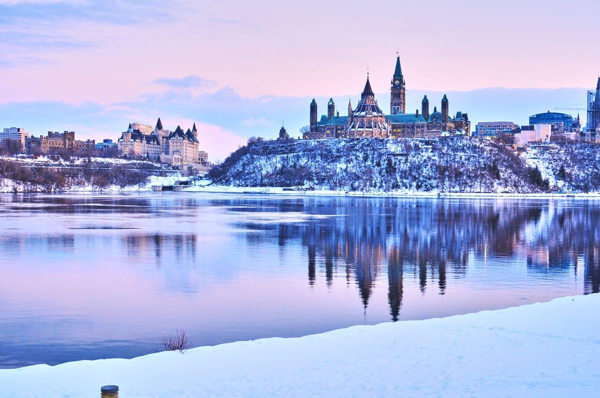 Canada en hiver - Ottawa